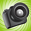 Vector clipart: Photo camera
