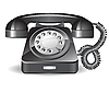 Vector clipart: Retro telephone