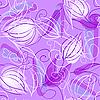 Векторный клипарт: бесшовный цветочный фон