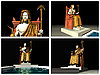 Statue of Zeus at Olympia. 3D reconstructions | Stock Illustration