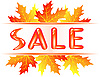 Vector clipart: Autumn sale