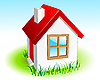Vector clipart: Small house