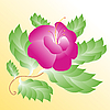 Vector clipart: pink flower