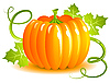 Vector clipart: Pumpkin