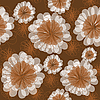Vector clipart: Seamless flower background