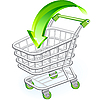 Vector clipart: Shopping cart