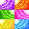 ID 3073483 | 一套抽象的背景 | 向量插图 | CLIPARTO