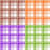 Векторный клипарт: Бесшовные клетчатые паттерны
