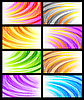 ID 3078563 | 一套抽象的背景 | 向量插图 | CLIPARTO