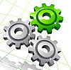 Vector clipart: Gears