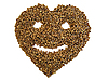 Buckwheat health with smile | Stock Foto