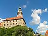 Photo 300 DPI: Old town Cesky Krumlov