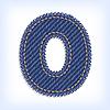 Jeans letter O