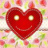 Cute smiling heart
