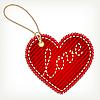 Vector clipart: jeans heart