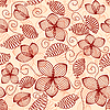 Vector clipart: Vintage seamless pattern