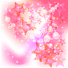 Vector clipart: Pink background