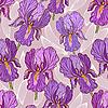 Vector clipart: Purple Iris