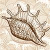Vector clipart: Sea shell