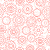 Vector clipart: Seamless pattern with gears