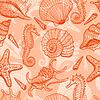 Sea nahtlose Muster