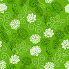 Photo 300 DPI: Seamless floral pattern