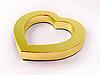 Gold heart | Stock Illustration