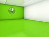 ID 3061891 | Empty green room | Stockowa ilustracja wysokiej rozdzielczości | KLIPARTO