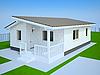 Photo 300 DPI: Small white cottage
