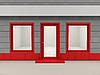 店铺门面 | 光栅插图