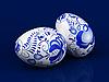 复活节彩蛋 | 光栅插图