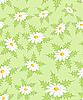 Векторный клипарт: Бесшовные цветочным узором, зеленый фон