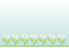 Векторный клипарт: Луг с ромашки, фон