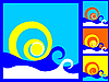 Vector clipart: wave