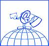 Vector clipart: postman