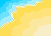 Vector clipart: beach