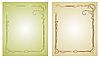 Vector clipart: Frames