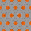 Vector clipart: Basketball background