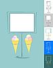 Vector clipart: Ice-cream