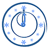 Vector clipart: Round hours with arrows