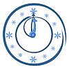 Векторный клипарт: Круглые часы со стрелками