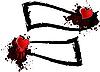 Vector clipart: heart banner