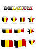 Vektor Cliparts: belgium flag icon