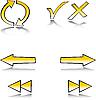 Vector clipart: web symbol set