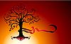 Векторный клипарт: абстрактное дерево