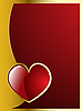 Vector clipart: valentine`s heart