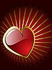 Векторный клипарт: сердечко на день Св. Валентина