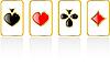 набор мастей игральных карт