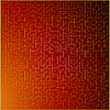 Векторный клипарт: красный и золотой абстрактный фон