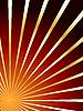 Векторный клипарт: красно-золотой абстрактный фон